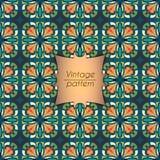 Αφηρημένο ζωηρόχρωμο γεωμετρικό άνευ ραφής σχέδιο Floral σύσταση υποβάθρου Στοκ φωτογραφίες με δικαίωμα ελεύθερης χρήσης