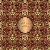 Αφηρημένο ζωηρόχρωμο γεωμετρικό άνευ ραφής σχέδιο Floral σύσταση υποβάθρου Στοκ φωτογραφία με δικαίωμα ελεύθερης χρήσης