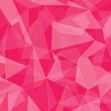 Αφηρημένο ζωηρόχρωμο γεωμετρικό υπόβαθρο τριγώνων ελεύθερη απεικόνιση δικαιώματος