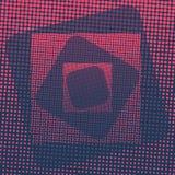 Αφηρημένο ζωηρόχρωμο ημίτονο οριζόντιο διάνυσμα σημείων Στοκ φωτογραφία με δικαίωμα ελεύθερης χρήσης