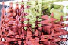 Αφηρημένο ζωηρόχρωμο σχέδιο υποβάθρου και σχεδίων Στοκ εικόνα με δικαίωμα ελεύθερης χρήσης