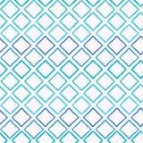 Αφηρημένο ζωηρόχρωμο υπόβαθρο σχεδίων blueish ombre γεωμετρικό άνευ ραφής διανυσματικό με κτυπημένες τις βούρτσα μορφές διαμαντιώ απεικόνιση αποθεμάτων