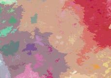 Αφηρημένο ζωηρόχρωμο υπόβαθρο 01 σύστασης watercolor απεικόνιση αποθεμάτων