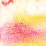 Αφηρημένο ζωηρόχρωμο υπόβαθρο watercolor Στοκ φωτογραφίες με δικαίωμα ελεύθερης χρήσης