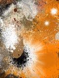 αφηρημένο ζωηρόχρωμο grunge ανα&sig απεικόνιση αποθεμάτων