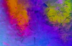 αφηρημένο ζωηρόχρωμο watercolor αν&alpha Στοκ εικόνες με δικαίωμα ελεύθερης χρήσης