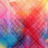 αφηρημένο ζωηρόχρωμο watercolor αν&alpha Στοκ φωτογραφίες με δικαίωμα ελεύθερης χρήσης