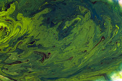 Αφηρημένο ζωηρόχρωμο watercolor στην ανασκόπηση νερού Στοκ Εικόνα