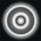Αφηρημένο ημίτονο υπόβαθρο grayscale Στοκ Φωτογραφίες