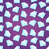 Αφηρημένο δημιουργικό διανυσματικό υπόβαθρο έννοιας του διαμαντιού για τον Ιστό και τις κινητές εφαρμογές, σχέδιο προτύπων απεικό Στοκ φωτογραφία με δικαίωμα ελεύθερης χρήσης