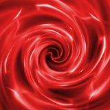 Αφηρημένο δημιουργικό κόκκινο υπόβαθρο στο ύφος των μικτών μέσων απεικόνιση αποθεμάτων