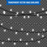Αφηρημένο δημιουργικό φως γιρλαντών Χριστουγέννων στο υπόβαθρο Πρότυπο Διανυσματική τέχνη απεικόνισης clipart για τα Χριστούγεννα Στοκ εικόνα με δικαίωμα ελεύθερης χρήσης