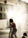 αφηρημένο θερινό διάνυσμα παφλασμών απεικόνισης Στοκ Φωτογραφίες