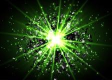 αφηρημένο διάνυσμα έκρηξης &a Φωτεινό φύσημα στο σκοτάδι Φωτεινό φως πυράκτωσης Ψηφιακός γραφικός για το φυλλάδιο, ιστοχώρος ελεύθερη απεικόνιση δικαιώματος