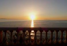 αφηρημένο διάνυσμα ήλιων θάλασσας απεικόνισης Στοκ φωτογραφία με δικαίωμα ελεύθερης χρήσης