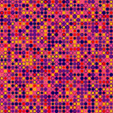 αφηρημένο διάνυσμα ανασκόπ& Αποτελείται από τα γεωμετρικά στοιχεία που τακτοποιούνται στο υπόβαθρο στη ροδανιλίνη Στοκ Εικόνες