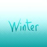 αφηρημένο διάνυσμα ανασκόπ& Χειμερινά χρώματα Στοκ φωτογραφία με δικαίωμα ελεύθερης χρήσης