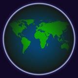 Αφηρημένο διάνυσμα παγκόσμιων χαρτών Στοκ φωτογραφία με δικαίωμα ελεύθερης χρήσης