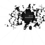 Αφηρημένο διάνυσμα υποβάθρου σπασίματος ελεύθερη απεικόνιση δικαιώματος