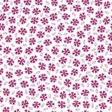 Αφηρημένο διανυσματικό άνευ ραφής σχέδιο λουλουδιών Στοκ εικόνες με δικαίωμα ελεύθερης χρήσης