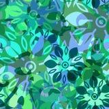 Αφηρημένο διανυσματικό άνευ ραφής υπόβαθρο doodle Στοκ φωτογραφίες με δικαίωμα ελεύθερης χρήσης
