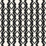 Αφηρημένο διανυσματικό μονοχρωματικό γεωμετρικό σχέδιο έννοιας Γραπτό ελάχιστο υπόβαθρο Δημιουργικό πρότυπο απεικόνισης Στοκ Εικόνα