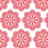 Αφηρημένο διανυσματικό σχέδιο λουλουδιών Στοκ φωτογραφία με δικαίωμα ελεύθερης χρήσης