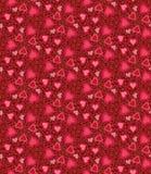 αφηρημένο διαστημικό κείμενο προτύπων αγάπης εικόνας απεικόνισης καρδιών έννοιας Στοκ Φωτογραφία