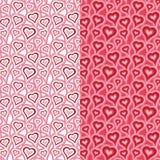 αφηρημένο διαστημικό κείμενο προτύπων αγάπης εικόνας απεικόνισης καρδιών έννοιας Στοκ Φωτογραφίες