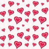αφηρημένο διαστημικό κείμενο προτύπων αγάπης εικόνας απεικόνισης καρδιών έννοιας Στοκ Εικόνα