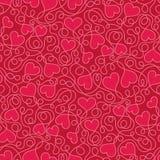 αφηρημένο διαστημικό κείμενο προτύπων αγάπης εικόνας απεικόνισης καρδιών έννοιας Στοκ εικόνες με δικαίωμα ελεύθερης χρήσης