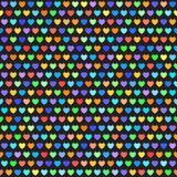 αφηρημένο διαστημικό κείμενο προτύπων αγάπης εικόνας απεικόνισης καρδιών έννοιας άνευ ραφής διάνυσμα ανασκό Στοκ Εικόνες