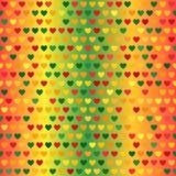 αφηρημένο διαστημικό κείμενο προτύπων αγάπης εικόνας απεικόνισης καρδιών έννοιας άνευ ραφής διάνυσμα ανασκό Στοκ Φωτογραφίες