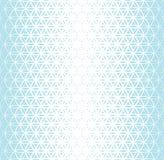 Αφηρημένο ιερό λουλούδι κλίσης γεωμετρίας μπλε του ημίτονύ σχεδίου ζωής διανυσματική απεικόνιση
