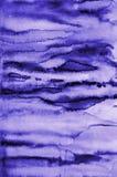 Αφηρημένο ιώδες watercolor στη σύσταση εγγράφου ως υπόβαθρο απεικόνιση αποθεμάτων