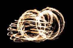 Αφηρημένο κάψιμο αριθμού πυρκαγιάς υπαίθριο Στοκ φωτογραφία με δικαίωμα ελεύθερης χρήσης