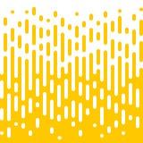 Αφηρημένο κίτρινο ημίτονο υγρό υπόβαθρο γραμμών διανυσματική απεικόνιση