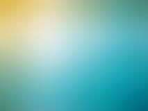 Αφηρημένο κίτρινο μπλε χρωματισμένο θολωμένο υπόβαθρο κλίσης Στοκ φωτογραφία με δικαίωμα ελεύθερης χρήσης