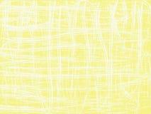 Αφηρημένο κίτρινο υπόβαθρο με την ταραγμένη γραμμή Στοκ εικόνα με δικαίωμα ελεύθερης χρήσης