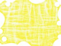 Αφηρημένο κίτρινο υπόβαθρο με τις ταραγμένες γραμμές Στοκ Εικόνες