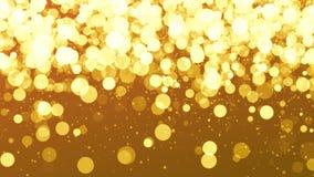Αφηρημένο κίτρινο χρωματισμένο κινούμενο ζωντανεψοντα άνευ ραφής υπόβαθρο κλίσης κεκλιμένων ραμπών Πτώση cirkles απεικόνιση αποθεμάτων