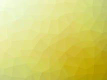 Αφηρημένο κίτρινο polygonal υπόβαθρο Στοκ Εικόνες