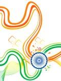 Αφηρημένο καλλιτεχνικό δημιουργικό ινδικό κύμα Στοκ εικόνα με δικαίωμα ελεύθερης χρήσης