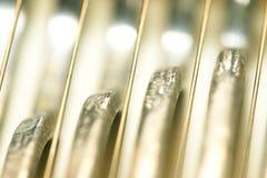 αφηρημένο καλώδιο μετάλλων στοκ εικόνα
