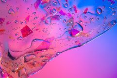 Αφηρημένο κατασκευασμένο διαφανές slime υποβάθρου κλίσης με το διάστημα αντιγράφων στοκ φωτογραφία με δικαίωμα ελεύθερης χρήσης