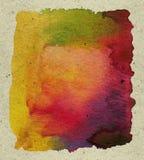 αφηρημένο κατασκευασμένο watercolor χρωμάτων στοκ φωτογραφίες με δικαίωμα ελεύθερης χρήσης