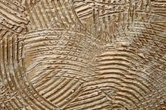 Αφηρημένο καφετί σχέδιο τσιμέντου στο υπόβαθρο τοίχων Στοκ Εικόνες