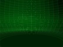 Αφηρημένο καλωδίων διάνυσμα 02 δομών τοίχων δικτύου πράσινο στρογγυλό ελεύθερη απεικόνιση δικαιώματος