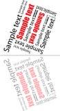 αφηρημένο κείμενο καθρεφτών εικόνας σύνθεσης Στοκ φωτογραφία με δικαίωμα ελεύθερης χρήσης