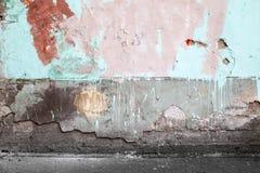 Αφηρημένο κενό εγκαταλειμμένο αστικό εσωτερικό Στοκ φωτογραφία με δικαίωμα ελεύθερης χρήσης